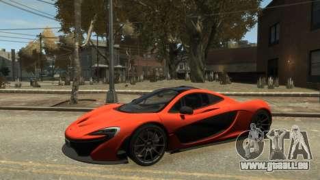 McLaren P1 2013 [EPM] pour GTA 4