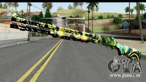 Grafiti Shotgun für GTA San Andreas
