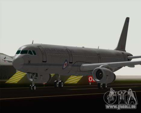 Airbus A321-200 Royal New Zealand Air Force für GTA San Andreas