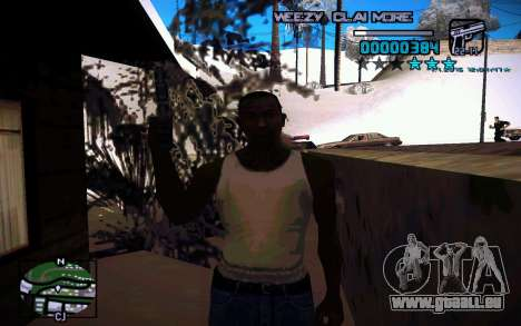 HUD by Weezy pour GTA San Andreas troisième écran