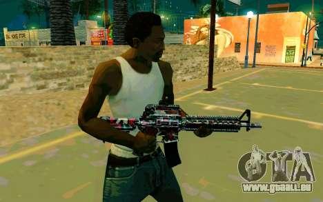M4A1 (Looney) pour GTA San Andreas deuxième écran