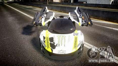 McLaren P1 2014 [EPM] Ken Block pour GTA 4 est une vue de l'intérieur