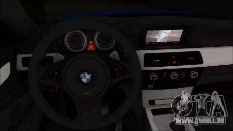 BMW 520i E60 für GTA San Andreas rechten Ansicht