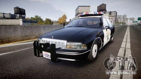 Chevrolet Caprice Highway Patrol [ELS] pour GTA 4