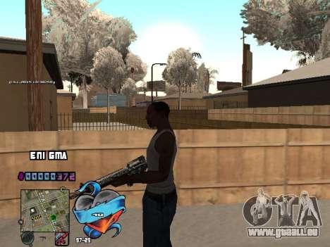C-PALETTE de Cœur pour GTA San Andreas septième écran