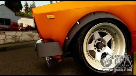 VAZ 2105 JDM für GTA San Andreas Innenansicht