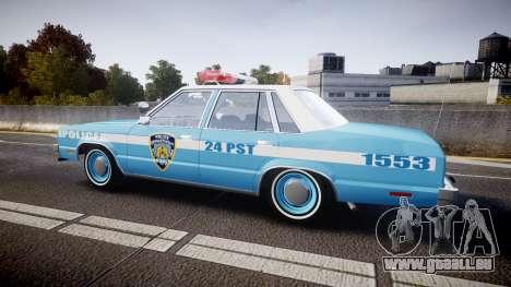 Ford Fairmont 1978 Police v1.1 pour GTA 4 est une gauche