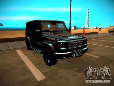 Mercedes-Benz G500 Bluetec 2014 pour GTA San Andreas