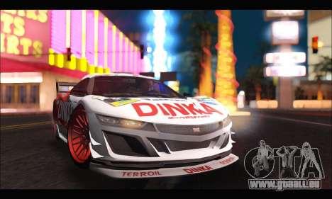 Dinka Jester Racear (GTA V) für GTA San Andreas rechten Ansicht