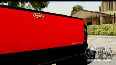 GTA 5 Vapid Sandking SWB pour GTA San Andreas vue arrière