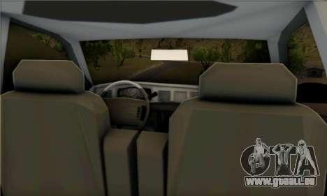 Ford Crown Victoria 1992 State Patrol für GTA San Andreas rechten Ansicht