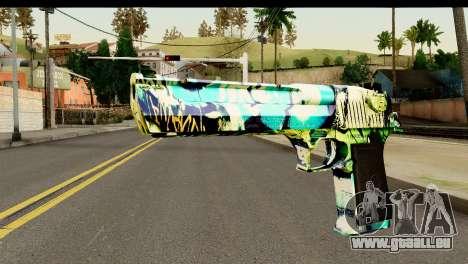 Grafiti Desert Eagle für GTA San Andreas