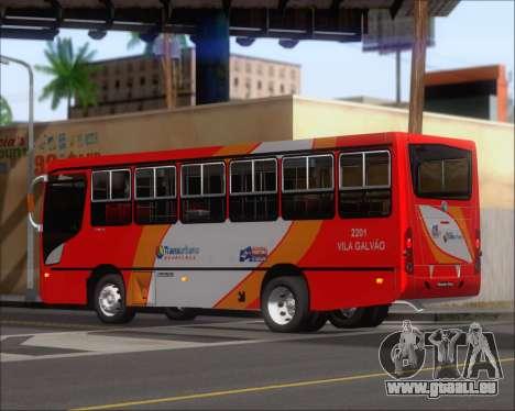 Caio Foz Super I 2006 Transurbane Guarulhoz 2201 pour GTA San Andreas vue de droite