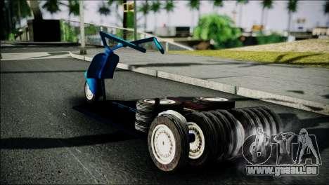 Vespa Gembel Extreme pour GTA San Andreas laissé vue