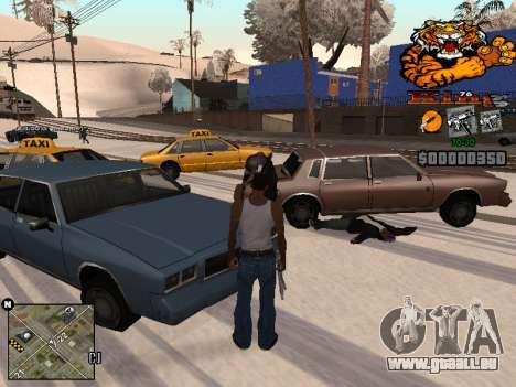 C-HUD King pour GTA San Andreas troisième écran