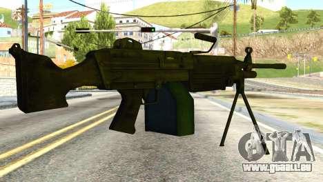M16 from Global Ops: Commando Libya pour GTA San Andreas deuxième écran