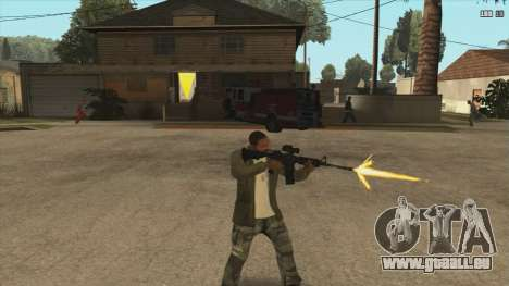 M4 из Killing Floor für GTA San Andreas zweiten Screenshot