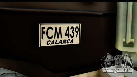 Chevrolet C.O.E. Semimula pour GTA San Andreas vue de droite