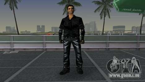 Tommi Black Skin für GTA Vice City dritte Screenshot