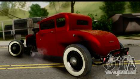 Smith 34 Hot Rod für GTA San Andreas linke Ansicht