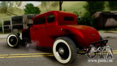 Smith 34 Hot Rod pour GTA San Andreas laissé vue