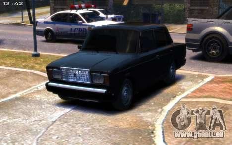 VAZ 2107 R13 pour GTA 4