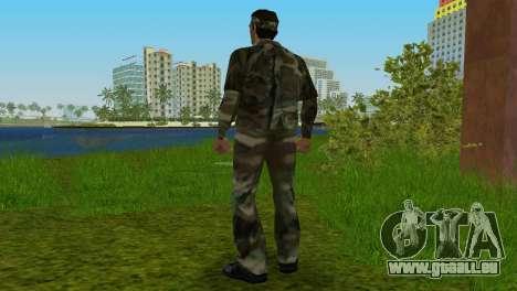 Original VC Camo Skin pour le quatrième écran GTA Vice City