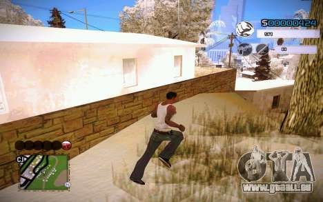 C-HUD by Jeremy Wilsher pour GTA San Andreas troisième écran