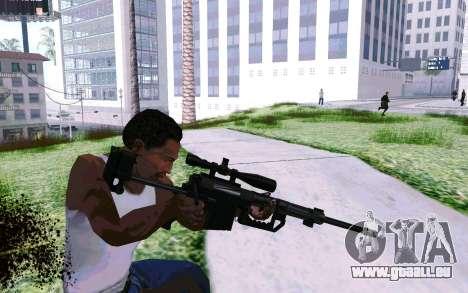 Cheytac M200 Black für GTA San Andreas dritten Screenshot