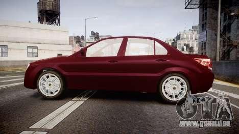 Iran Khodro Dena für GTA 4 linke Ansicht