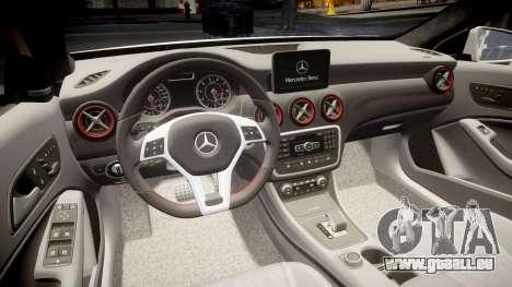 Mersedes-Benz A45 AMG PJs5 für GTA 4 Seitenansicht
