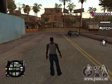 C-HUD WanTed für GTA San Andreas zweiten Screenshot