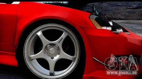 Honda Integra Type R Time Attack HQLM für GTA San Andreas zurück linke Ansicht