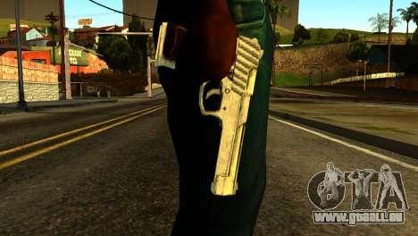 Desert Eagle from GTA 5 pour GTA San Andreas troisième écran