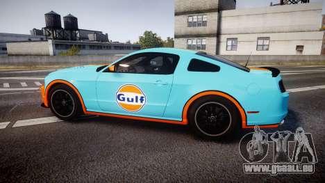 Ford Mustang Boss 302 2013 Gulf für GTA 4 linke Ansicht