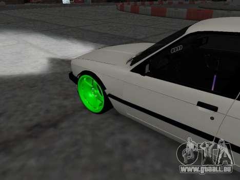 BMW M3 E30 Drift pour GTA San Andreas vue de droite