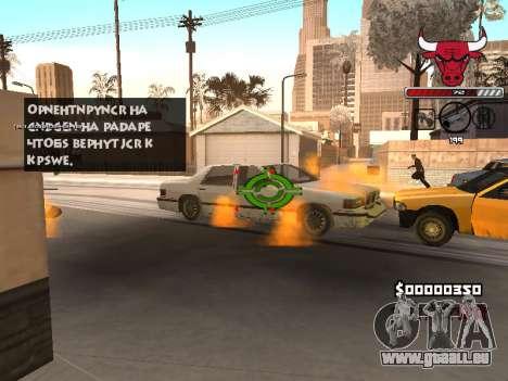 C-HUD Angry für GTA San Andreas fünften Screenshot