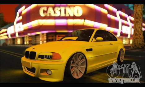 BMW M3 Coupe Tuned pour GTA San Andreas