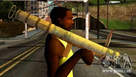 Firework Launcher from GTA 5 pour GTA San Andreas troisième écran