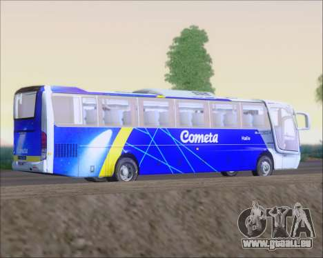 Busscar Vissta Buss LO Cometa pour GTA San Andreas vue arrière