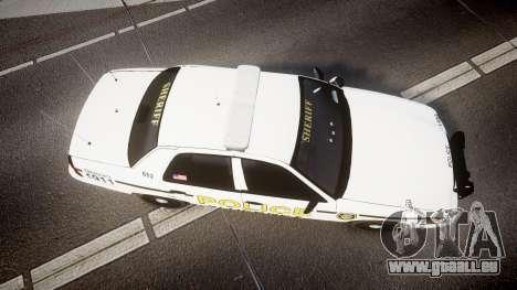 Ford Crown Victoria Police Alderney [ELS] pour GTA 4 est un droit