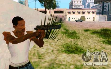 Desert Eagle (Dodgers) für GTA San Andreas dritten Screenshot