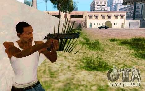 Desert Eagle (Dodgers) pour GTA San Andreas troisième écran