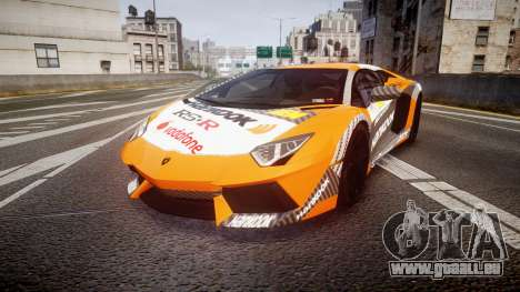 Lamborghini Aventador 2012 [EPM] Hankook Orange pour GTA 4