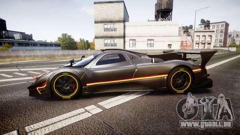 Pagani Zonda Revolution 2013 für GTA 4 linke Ansicht