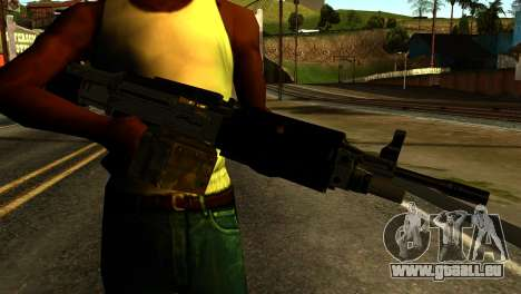 Combat MG from GTA 5 pour GTA San Andreas troisième écran