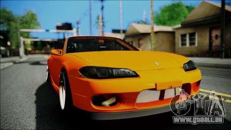 Nissan Silvia S15 Varietta pour GTA San Andreas vue de droite