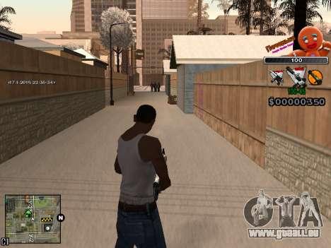 C-HUD Cookie pour GTA San Andreas sixième écran