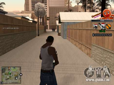 C-HUD Cookie für GTA San Andreas sechsten Screenshot