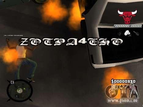 C-HUD Angry für GTA San Andreas sechsten Screenshot
